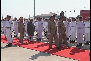 Vice-President of India visited Myanmar in February 2009 610