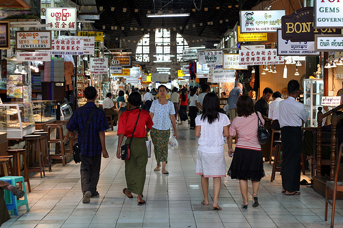 Bogyoke Aung San Market ( Yangon ) Bogyok12