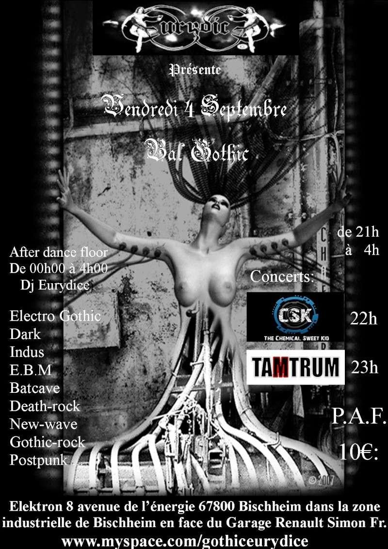 bal gothic avec tamtrum et chemical sweet kid en concert Affich72