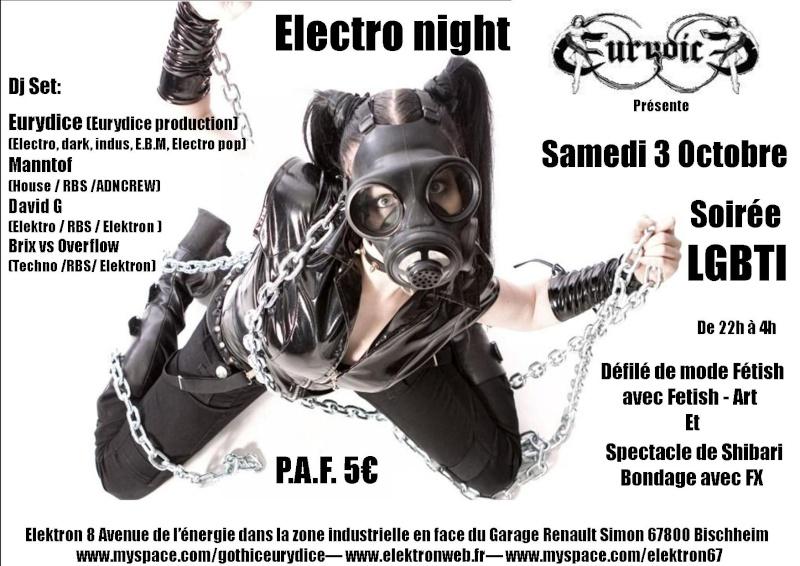 soirée electro night le 3 octobre à l'elektron à Bischheim Fatish20