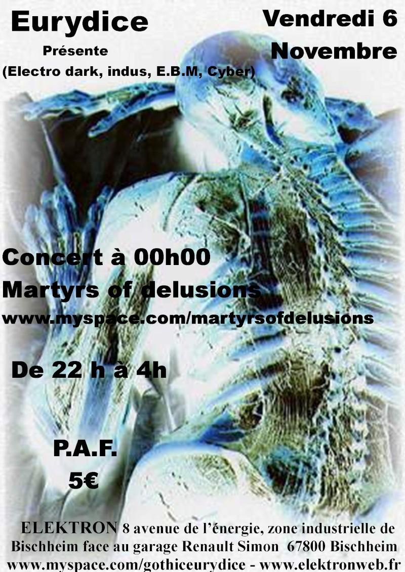 concert martyrs of delusion + soirée ven 6 nov à l'elektron Martyr12