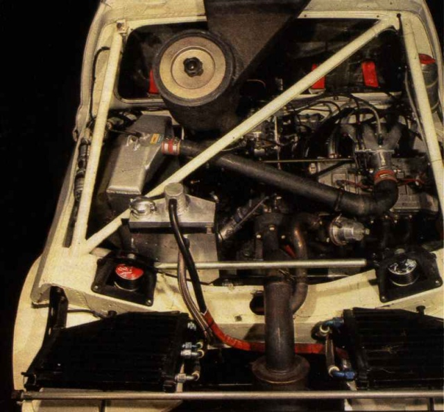 rival direct peugeot 205 Turbo 16 Moteur10