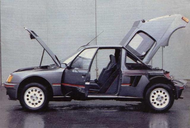 rival direct peugeot 205 Turbo 16 Peugeo10