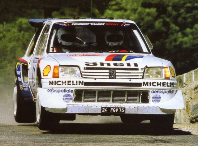 rival direct peugeot 205 Turbo 16 Saby_t10