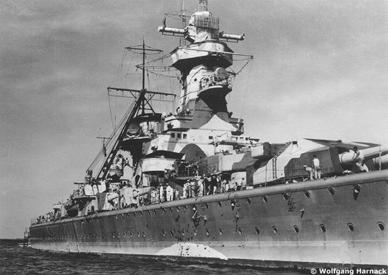 "Fil rouge 2020 : (Heller) Croiseur lourd ""Graf Spee"" - 1/400. 1efb0310"