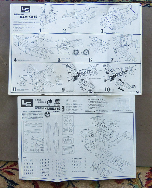 Montage Chrono [LS] MITSUBISHI KAMIKAZE 1937 1/72ème Réf A300. Babs_013