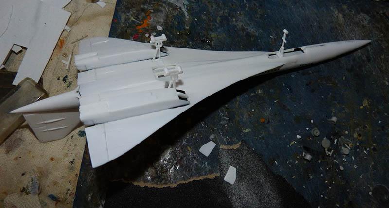 SUD AVIATION - BRITISH AIRCRAFT CORPORATION  CONCORDE Cie AIR FRANCE 1/300ème Réf CADET L 006 - Page 2 Concor35