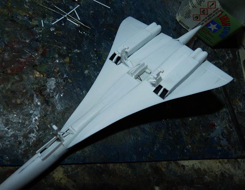 SUD AVIATION - BRITISH AIRCRAFT CORPORATION  CONCORDE Cie AIR FRANCE 1/300ème Réf CADET L 006 - Page 2 Concor38