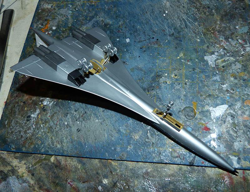 SUD AVIATION - BRITISH AIRCRAFT CORPORATION  CONCORDE Cie AIR FRANCE 1/300ème Réf CADET L 006 - Page 2 Concor50