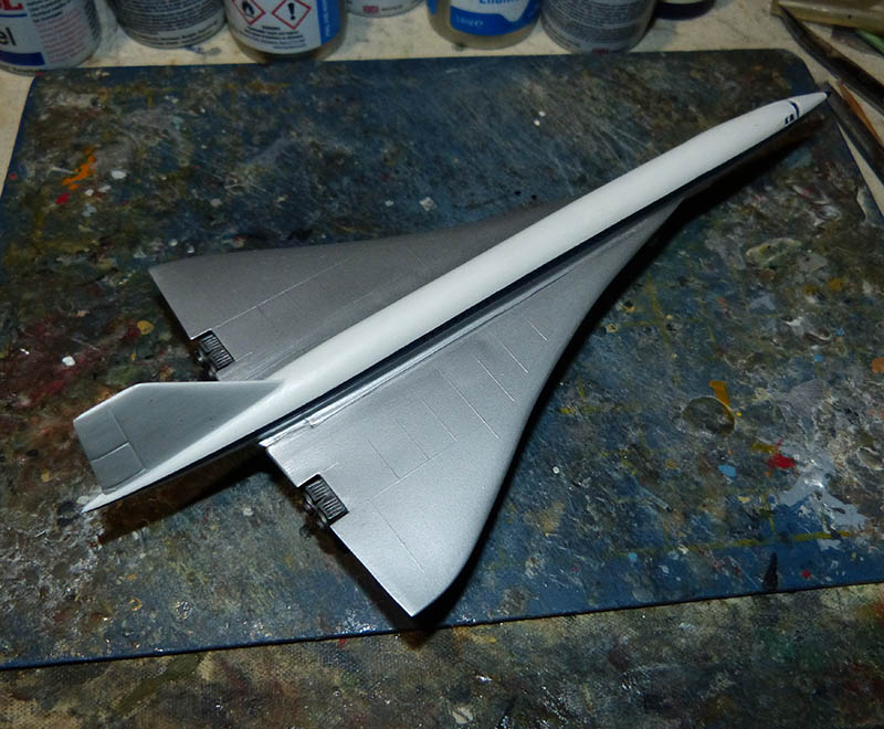 SUD AVIATION - BRITISH AIRCRAFT CORPORATION  CONCORDE Cie AIR FRANCE 1/300ème Réf CADET L 006 - Page 2 Concor51