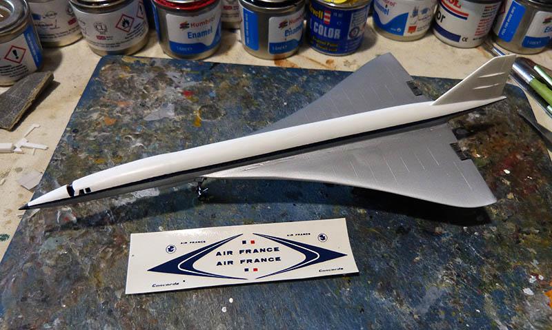 SUD AVIATION - BRITISH AIRCRAFT CORPORATION  CONCORDE Cie AIR FRANCE 1/300ème Réf CADET L 006 - Page 2 Concor52