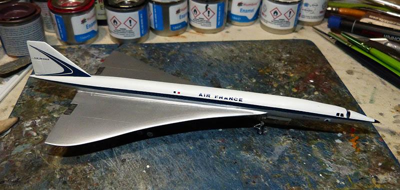 SUD AVIATION - BRITISH AIRCRAFT CORPORATION  CONCORDE Cie AIR FRANCE 1/300ème Réf CADET L 006 - Page 2 Concor54