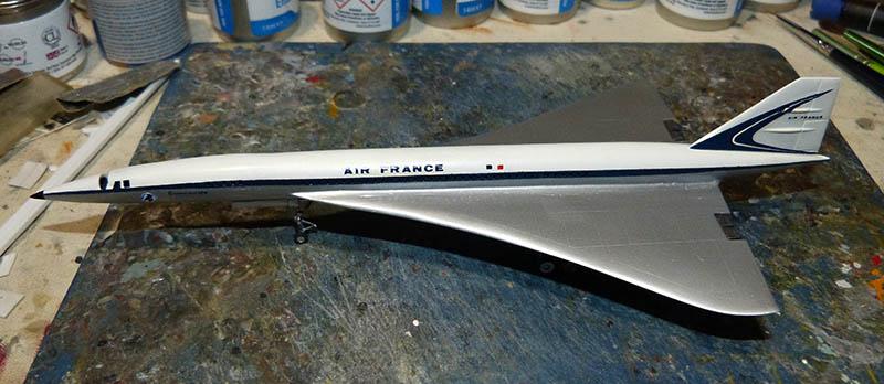 SUD AVIATION - BRITISH AIRCRAFT CORPORATION  CONCORDE Cie AIR FRANCE 1/300ème Réf CADET L 006 - Page 2 Concor55