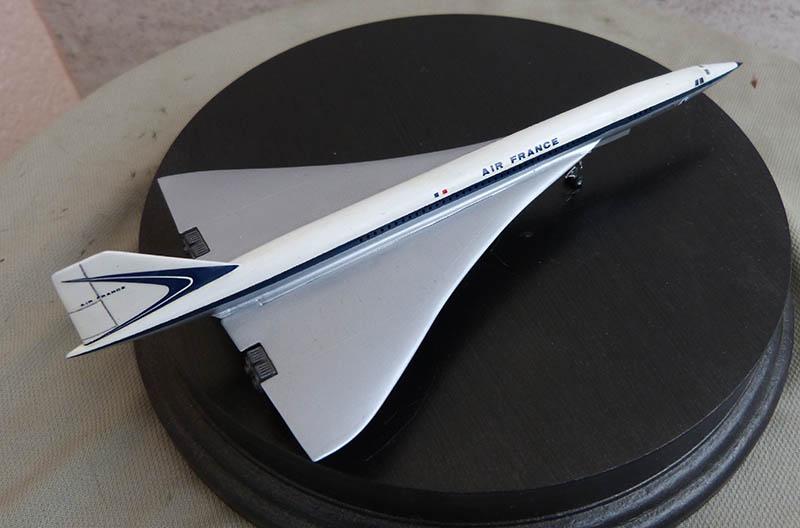 SUD AVIATION - BRITISH AIRCRAFT CORPORATION  CONCORDE Cie AIR FRANCE 1/300ème Réf CADET L 006 - Page 2 Concor66