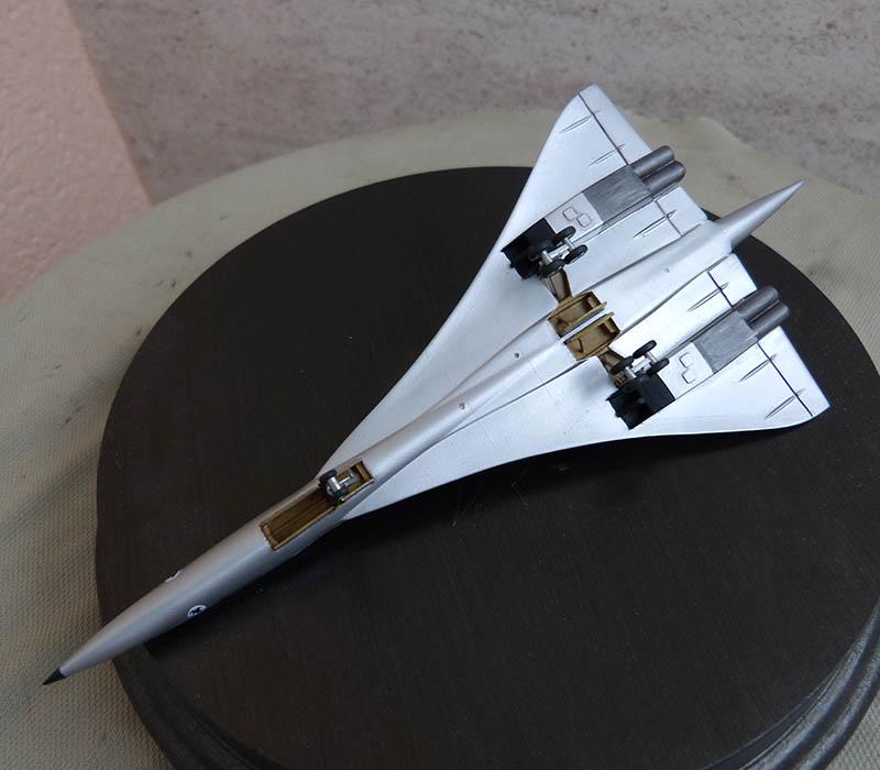 SUD AVIATION - BRITISH AIRCRAFT CORPORATION  CONCORDE Cie AIR FRANCE 1/300ème Réf CADET L 006 - Page 2 Concor73