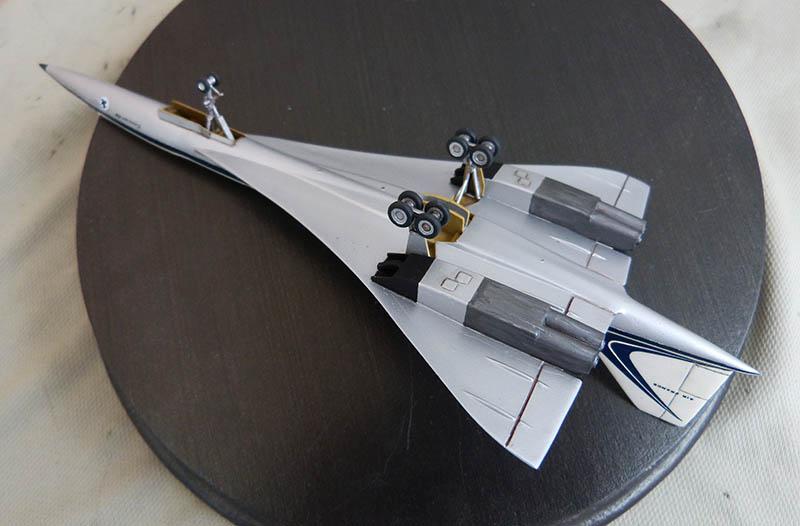 SUD AVIATION - BRITISH AIRCRAFT CORPORATION  CONCORDE Cie AIR FRANCE 1/300ème Réf CADET L 006 - Page 2 Concor74