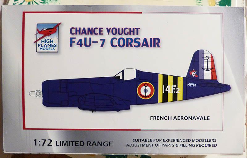 """F4U-7 Corsair de la """"Royale"""" - High Planes Models - 1/72. Corsai15"""