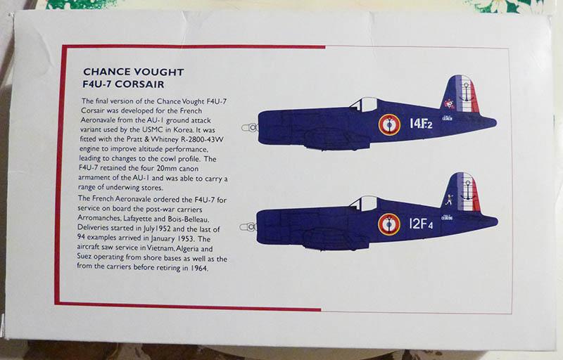 """F4U-7 Corsair de la """"Royale"""" - High Planes Models - 1/72. Corsai16"""