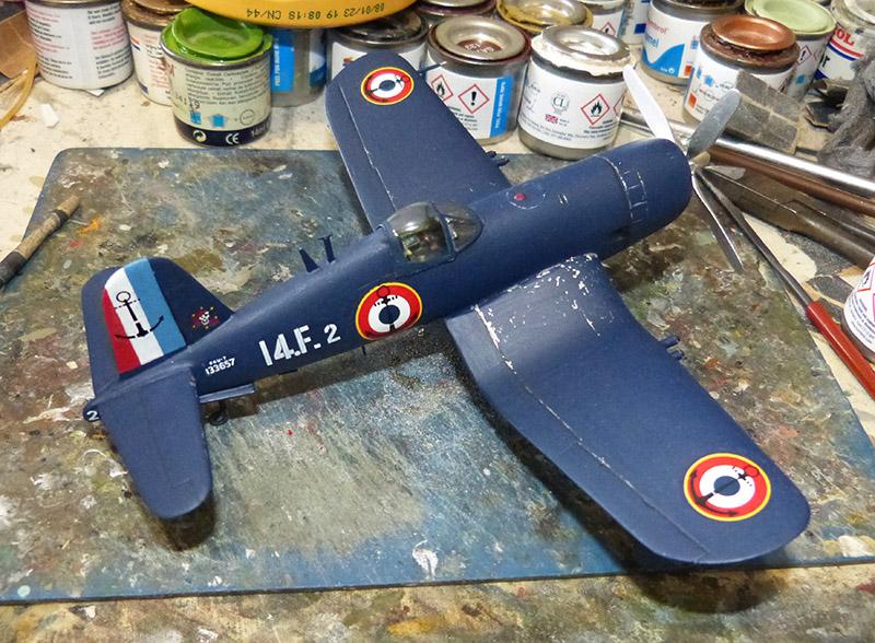 "[High Planes Models] Corsair F4U7 de ""La Royale""- Terminé. Corsai61"