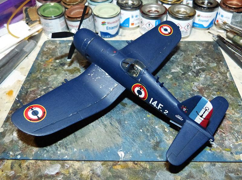 "[High Planes Models] Corsair F4U7 de ""La Royale""- Terminé. Corsai63"