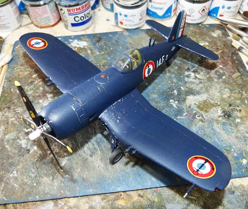 "[High Planes Models] Corsair F4U7 de ""La Royale""- Terminé. Corsai68"