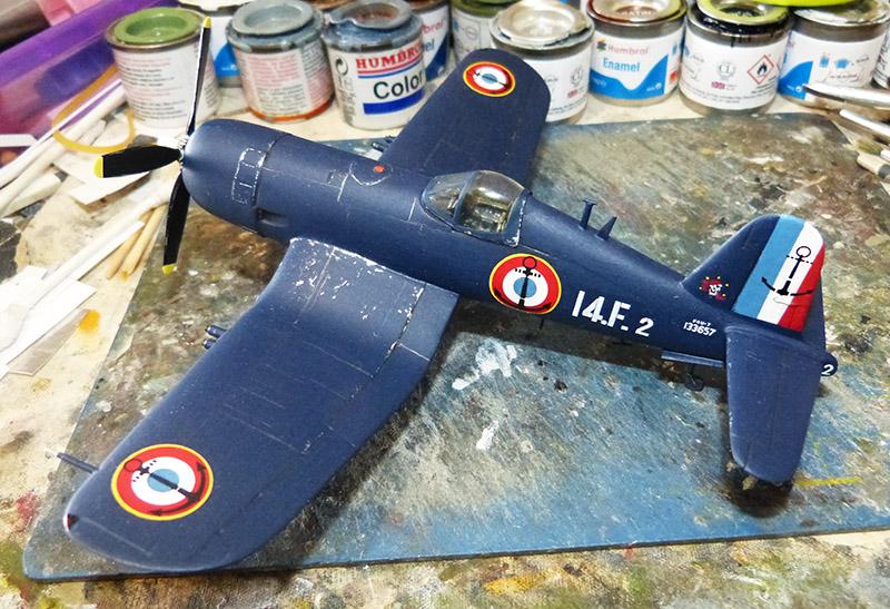"[High Planes Models] Corsair F4U7 de ""La Royale""- Terminé. Corsai69"