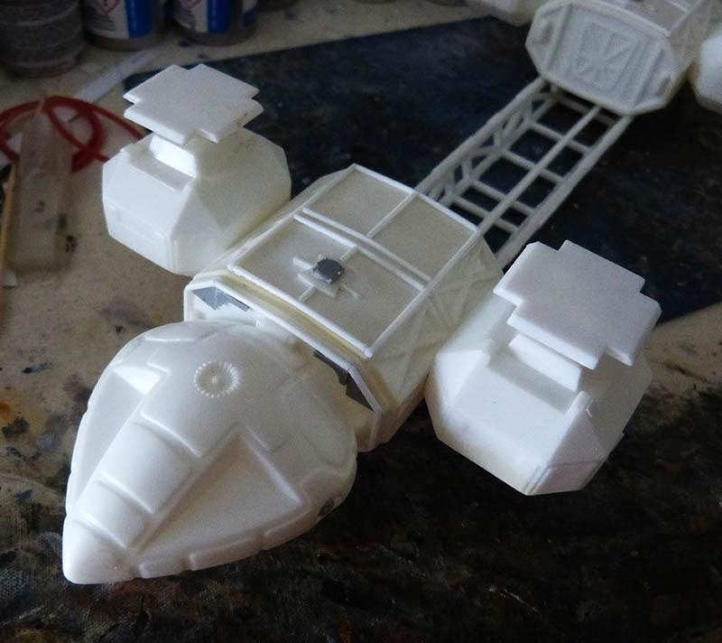 "Eagle 1 Transporter ""Space 1999"" - MPC. Cosmos19"