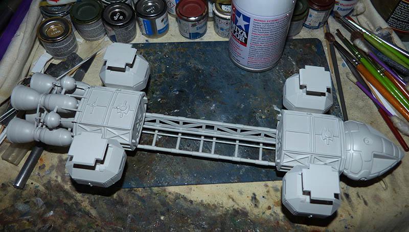 "Eagle 1 Transporter ""Space 1999"" - MPC. Cosmos20"