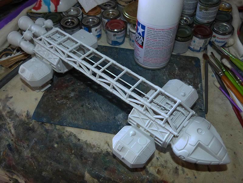 "Eagle 1 Transporter ""Space 1999"" - MPC. Cosmos21"