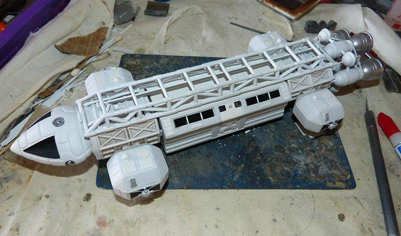 "Eagle 1 Transporter ""Space 1999"" - MPC. Cosmos33"