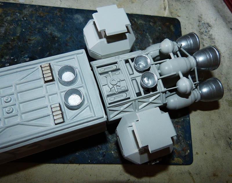 "Eagle 1 Transporter ""Space 1999"" - MPC. Cosmos35"