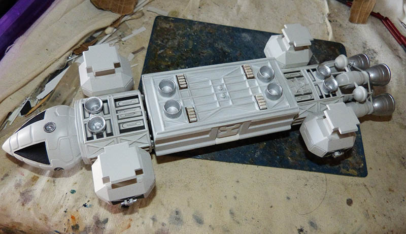 "Eagle 1 Transporter ""Space 1999"" - MPC. Cosmos36"