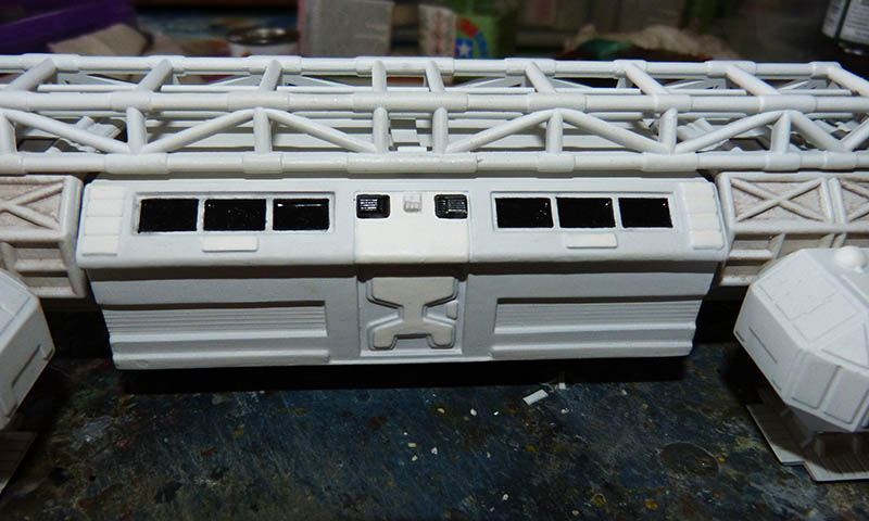 "Eagle 1 Transporter ""Space 1999"" - MPC. Cosmos38"