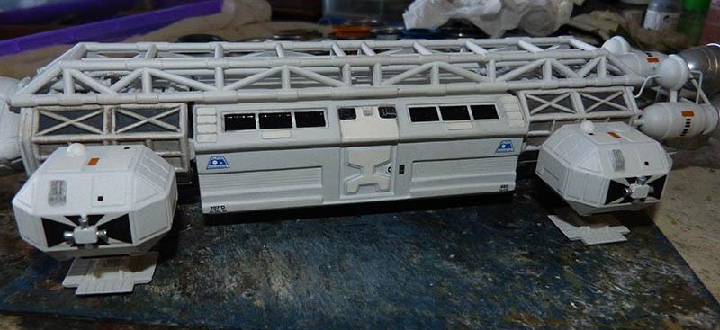 "Eagle 1 Transporter ""Space 1999"" - MPC. Cosmos41"