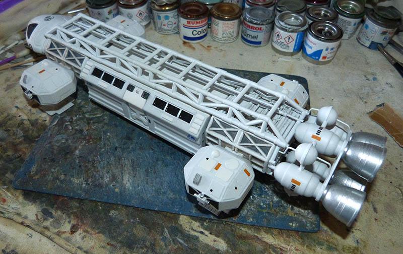 "Eagle 1 Transporter ""Space 1999"" - MPC. Cosmos42"