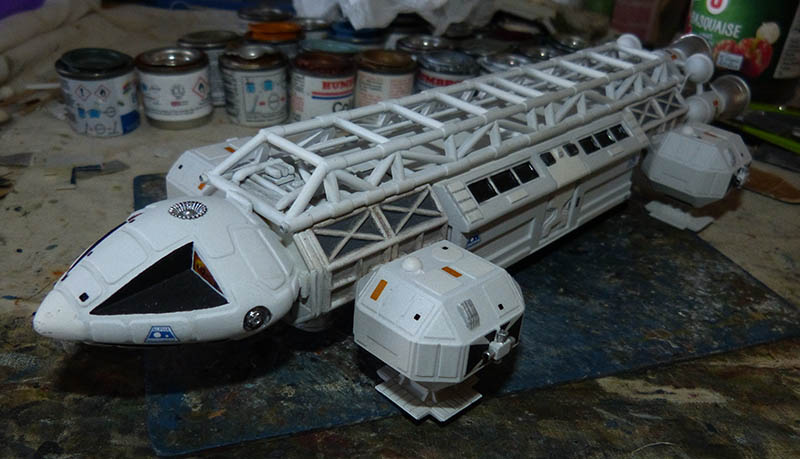 "Eagle 1 Transporter ""Space 1999"" - MPC. Cosmos43"
