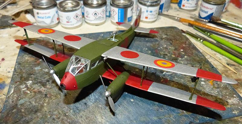 """[Concours 2019 - 1][Aerofile-Heller] DH89M républicain """"Alas Rojas"""" 1936. Dh89_716"""