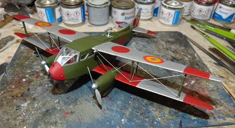 """[Concours 2019 - 1][Aerofile-Heller] DH89M républicain """"Alas Rojas"""" 1936. Dh89_810"""