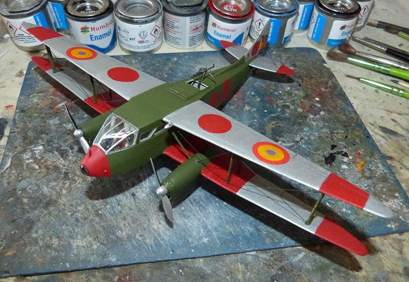 """[Concours 2019 - 1][Aerofile-Heller] DH89M républicain """"Alas Rojas"""" 1936. Dh89_812"""