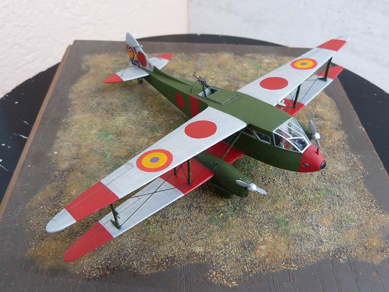 """Dragon Rapide DH 89 M Républicain Espagnol """" - Escadrille """"Alas Rojas"""" 1936. Dh89_823"""