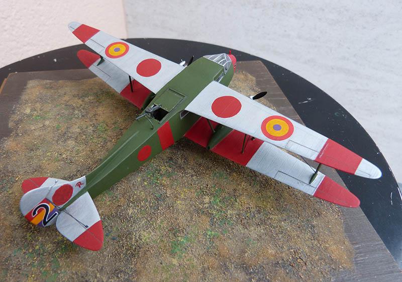 """Dragon Rapide DH 89 M Républicain Espagnol """" - Escadrille """"Alas Rojas"""" 1936. Dh89_826"""