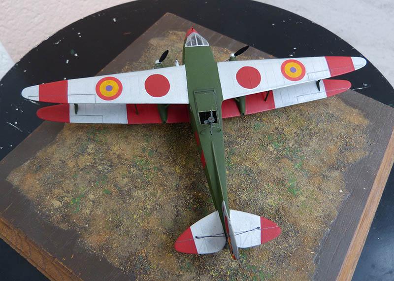 """Dragon Rapide DH 89 M Républicain Espagnol """" - Escadrille """"Alas Rojas"""" 1936. Dh89_928"""