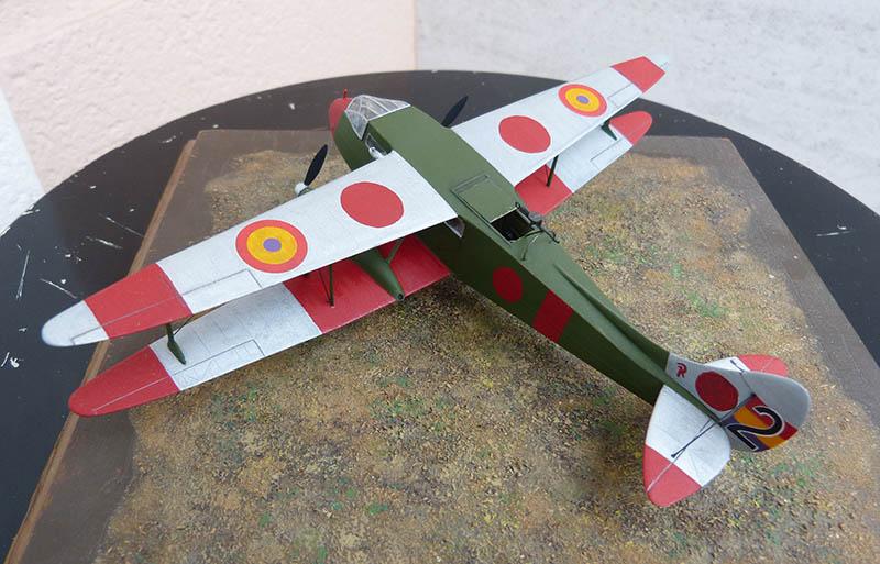 """Dragon Rapide DH 89 M Républicain Espagnol """" - Escadrille """"Alas Rojas"""" 1936. Dh89_929"""
