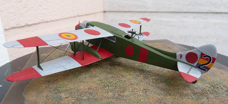 """Dragon Rapide DH 89 M Républicain Espagnol """" - Escadrille """"Alas Rojas"""" 1936. Dh89_933"""