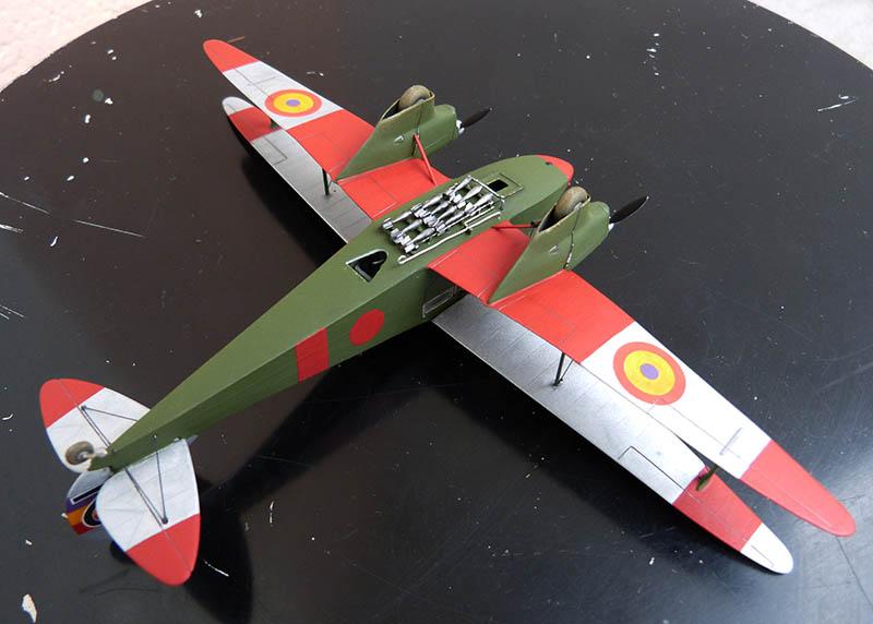 """Dragon Rapide DH 89 M Républicain Espagnol """" - Escadrille """"Alas Rojas"""" 1936. Dh89_936"""