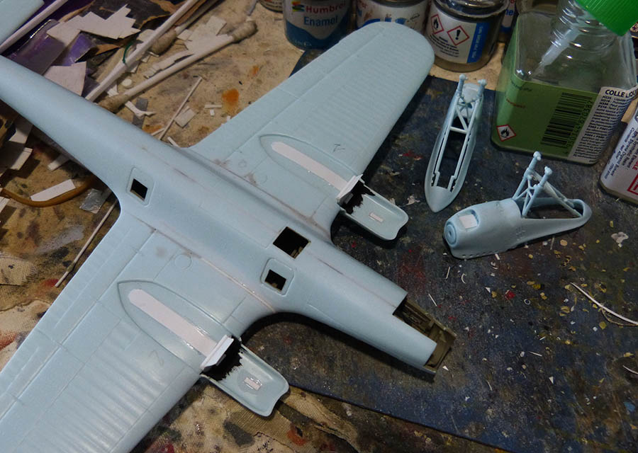 """(Airfix) Dornier 17 E """"Légion Condor"""" 1938. Dornie43"""