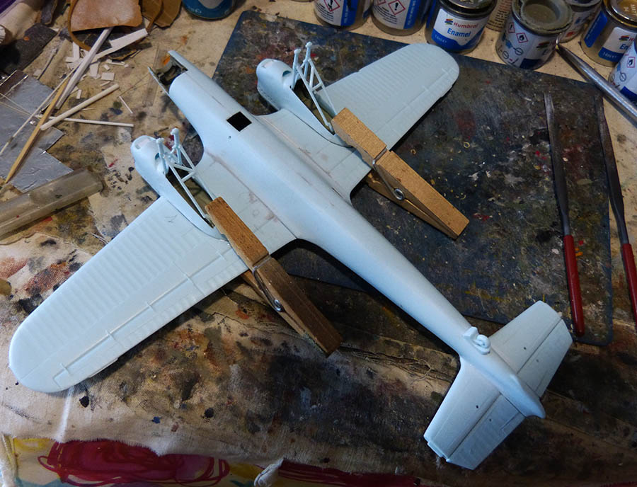 """(Airfix) Dornier 17 E """"Légion Condor"""" 1938. Dornie47"""