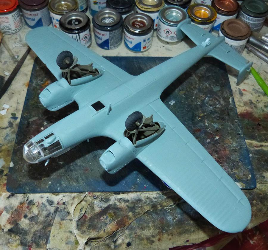 """(Airfix) Dornier 17 E """"Légion Condor"""" 1938. Dornie67"""