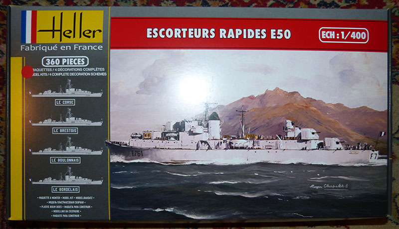 Escorteur rapide Type E 50 LE BORDELAIS Réf 81093. Er_0110