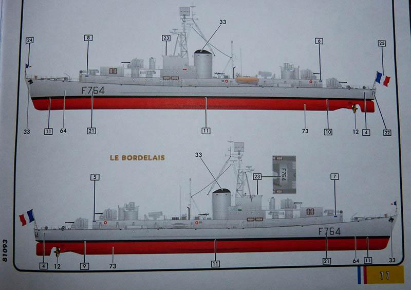 Escorteur rapide Type E 50 LE BORDELAIS Réf 81093. Er_0310